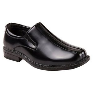 Boys Leather Loafers Black Dress Shoes NWOT